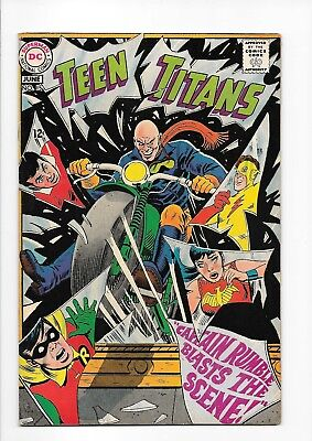 Teen Titans #15 May '68 Silver-Age NM condition