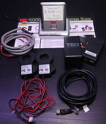 TED 5000-C The Energy Detective Home Electricity Monitor
