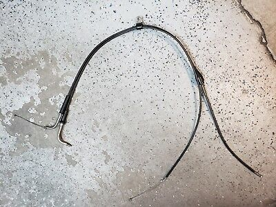 05 Harley-Davidson Road King Efi Flhri Throttle Cables Pair 56237-99A