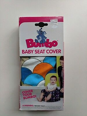 Bumbo Scales Print Floor Seat Cover, brand new! Super cute, colorful pattern!
