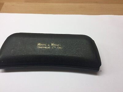 "Moor And Wright 1"" Micrometer No/ 964B In Case"