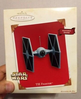 Hallmark Keepsake 2003 Star Wars Tie Fighter Christmas Ornament