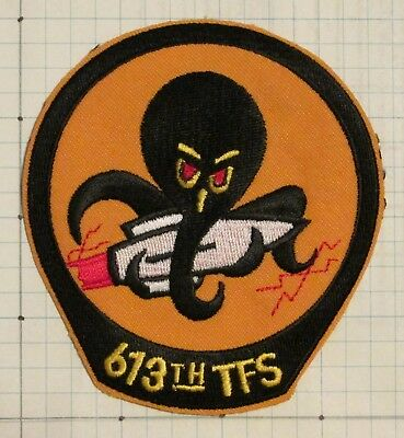 USAF Air Force patch - 613th Tactical Fighter Sq (TFS)