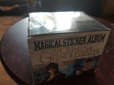 50 pack stickers Harry Potter Fantastic Beasts 2 Crimes Of Grindelwald full box
