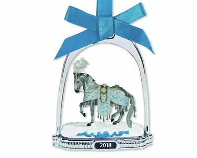 Breyer NEW * Celestine Stirrup Ornament * Christmas Holiday Model Horse