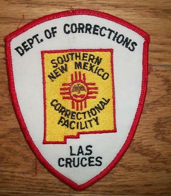 Southern New Mexico Correctional Facility, Las Cruces, New Mexico Patch