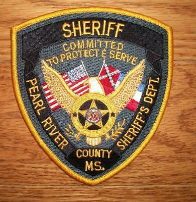 Pearl River County, Mississippi Sheriff Patch