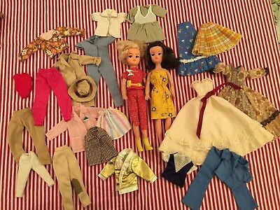 Vintage Sindy Dolls and clothes