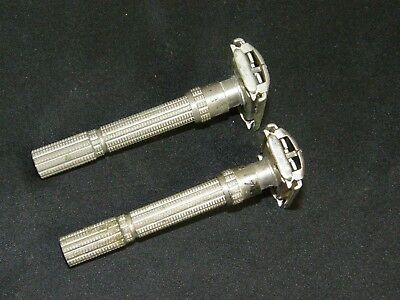 Gillette Adjustable two piece lot vintage double edge safety razor