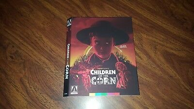 Children of the Corn Shout Factory Bluray Slipcover Only slipcase NO discs