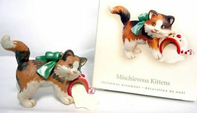 HALLMARK Mischievous Kittens 2008 Ornament 10th in the series New in Box