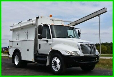 2003 International 4400 DT466 Service Utility Box PTO Air Compressor No Reserve