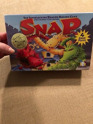SNAP The Interlocking Dragon Making Kids Strategy Gamewright 2007 Ages 6+