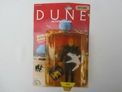 1984 LJN DUNE Feyd ACTION FIGURE New SEALED Vintage MATCHBOX TOY Battle Matic