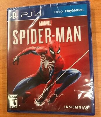 Marvel's Spider-Man - PlayStation 4 - PS4  (Latest 2018 Version) NEW SEALED