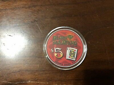 Rare $5 Chip From The Black Diamond Casino Cripple Creek Colorado