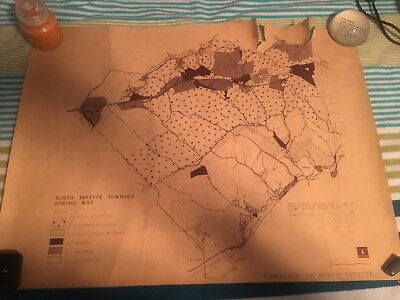 North Fayette Township PA Zoning Map 1966