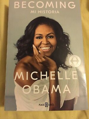 Becoming Spanish Edition Michelle Obama Biographies & Memoirs Law Paperback NEW