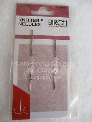 Birch Knitters Needles 2 Sizes Sharp Tip
