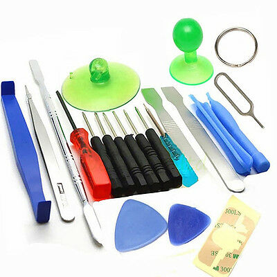 21pcs Screwdrivers Repair Opening Pry Tools Kit Set For Cell Phone PC Tablet