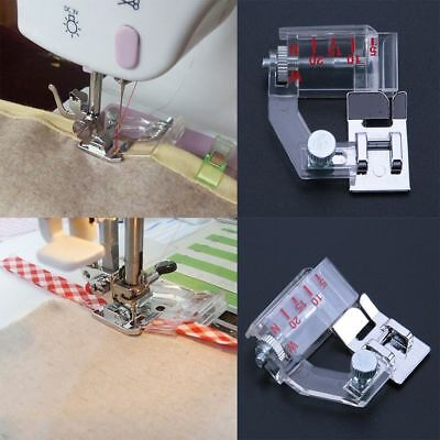 Adjustable Bias Binder Presser Foot Feet Binding Feet Sewing Machine Accessory