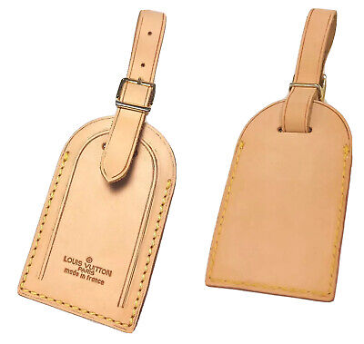 Louis Vuitton Large Name ID Tag - One Piece 💯% Authentic for Keepall Bag