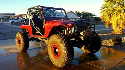 1969 Toyota Land Cruiser  1969 Toyota FJ-40 Land Cruiser Rock Crawler