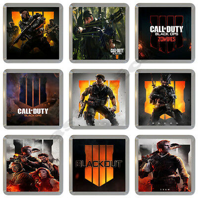 Call Of Duty Black Ops 4 Video Game Cup Drinks Coaster - Buy 3 Get 1 Free
