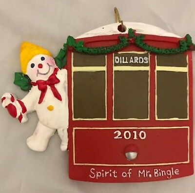 Mr Bingle 2010 Spirit Of Riding On A New Orleans Car Streetcar New Hard To Find