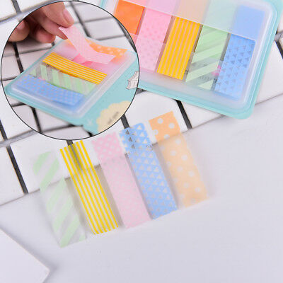 1Pc Stick Markers Book Page Index Flag Sticky Notes Office School Supplies