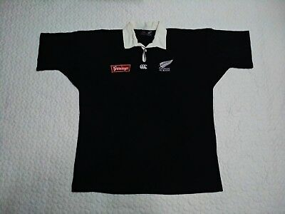 New Zealand All Blacks Steinlager Vintage Canterbury 1994-1996 Rugby Jersey  XL 7a189ab806