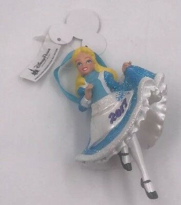 NEW Disney Parks Alice in wonderland Christmas Holiday 2017 Ornament