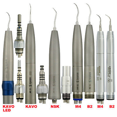 Dental Hygienist LED Air Scaler Sonic S Handpiece 2 4 Hole Fit KAVO NSK Coupling