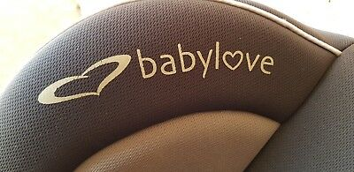 BabyLove Car Seat- Charcoal