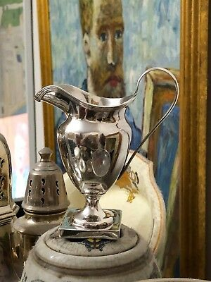 Sterling Silver Cream Jug - Chester - 1897