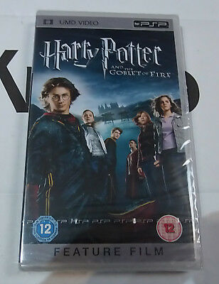 Harry Potter Goblet of Fire  (New and Sealed) Sony PSP UMD Video Movie