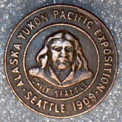 *** Alaska Yukon Pacific Expo *** 1909 AYPE *** Chief Seattle ***