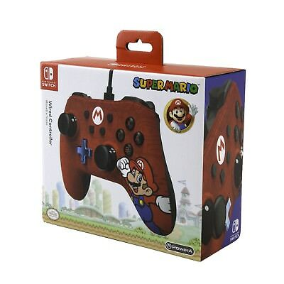 MANETTE FILAIRE OFFICIELLE MARIO NINTENDO SWITCH Neuf