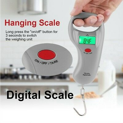 Portable Digital Travel Scale for Suitcase luggage Weight 50KG Hanging Scale ZY