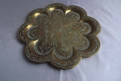 brass tray asian indian