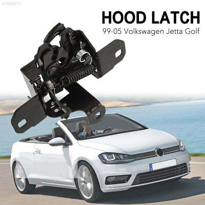 6F3E Black Hood Lock Latch Car 1J0823509 Iron for 1999-2005 VW Jetta Golf