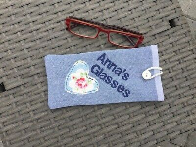 Personalised Cath Kidston  Glasses  / Sunglasses Case Choice of  name
