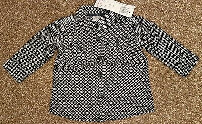 Baby Boys F&F Dressed Smart Shirt Age 3-6mths Christmas Xmas day Party NEW