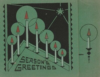 vintage seasons greetings velvet merry christmas happy new year card