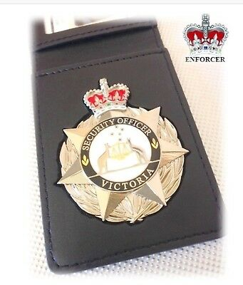 Security VICTORIA Badge with ID Wallet - Delivery Included