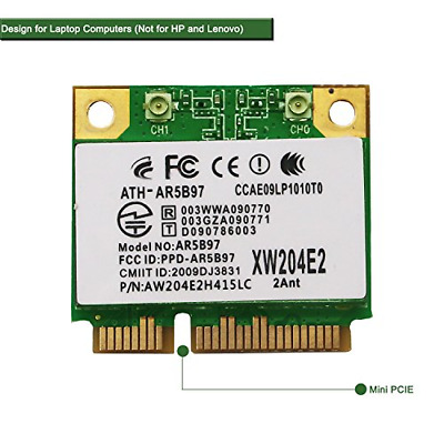 NETELY WIRELESS NETWORK Adapter for Laptop-NGFF M2 Wi-Fi