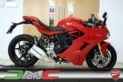 2018 Ducati Supersport S Red 754 Miles 1 Owner
