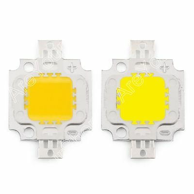 LED 10W Warm Blanco Blanco LED Chip SMD Lamp Beads Alto Voltaje Lámpara Diodo