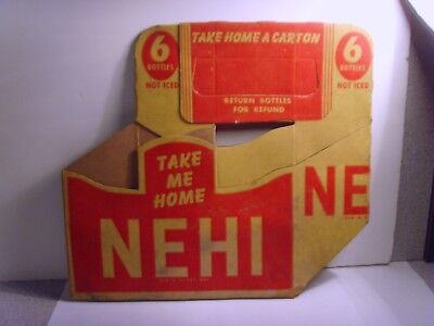 Super Early Nehi Carton. Must See