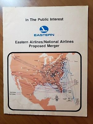 Eastern Airlines--National Airlines  Proposed Merger Document